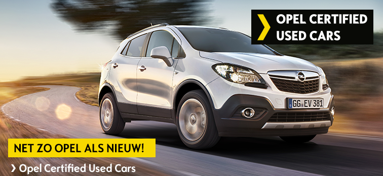 Opel Certified Used Cars